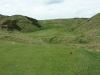 Well-guarded green at Cruden Bay
