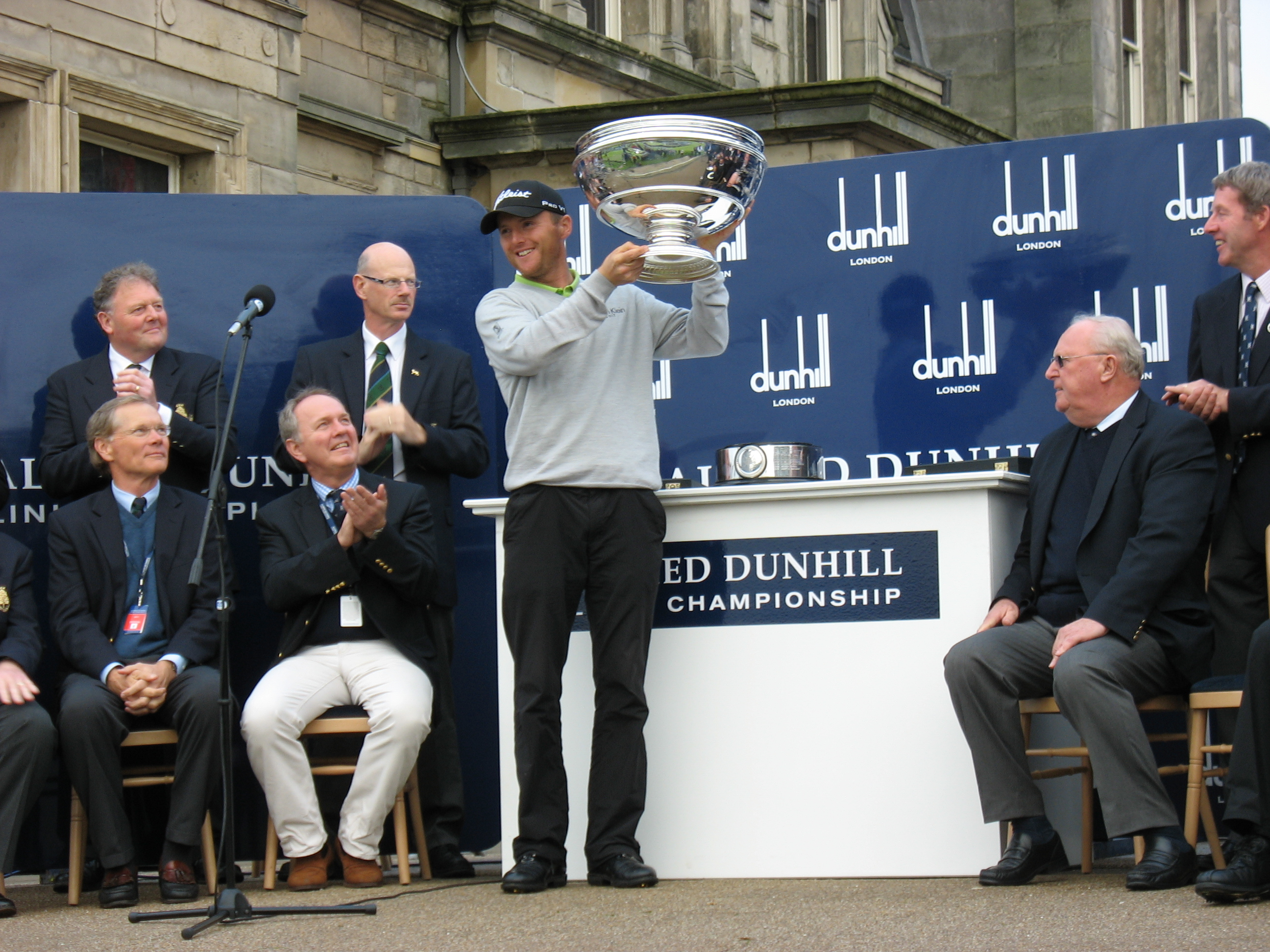 2011 Alfred Dunhill Links Champion Michael Hoey