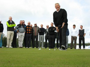 Monty´s golf clinic at Kingsbarns_putting